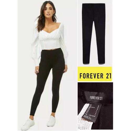 Foto Produk Celana Legging Forever 21 Hitam dari Kujualaku