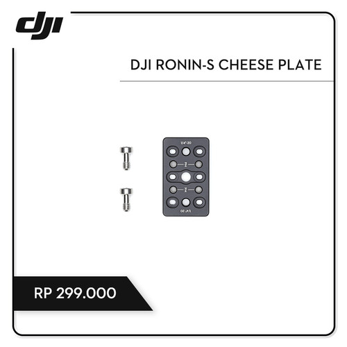 Foto Produk DJI Ronin-S Cheese Plate dari DJI Authorized Store JKT