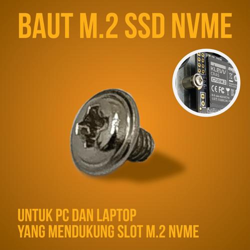 Foto Produk Sekrup Baut M2 NVME dari Cutty