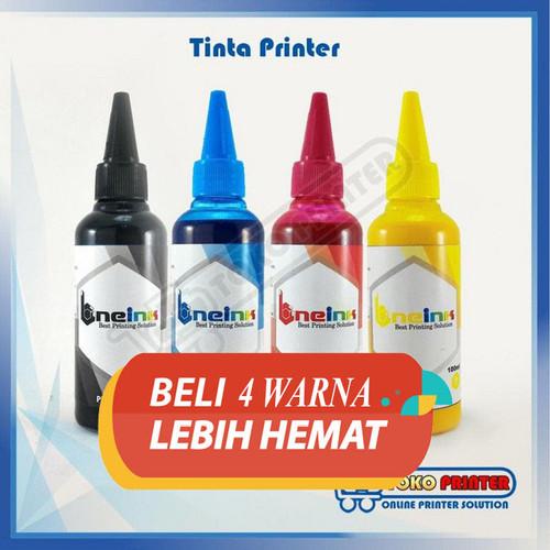 Foto Produk Tinta Canon Pigment Anti Luntur ONE ink 1 SET CMYK dari Toko Printer Indonesia