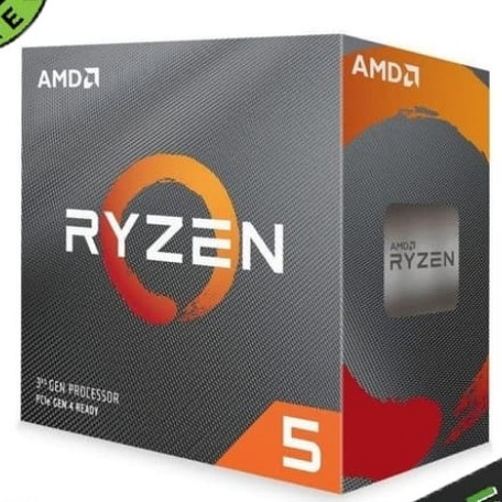 Foto Produk AMD Ryzen 5 3500G 3.6Ghz Up To 4.1Ghz Cache 32Mb 65W AM4 Box dari GCG ASIA SHOP