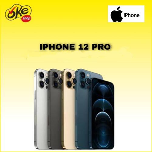 Foto Produk Iphone 12 Pro Smartphone 128GB - Graphite dari OKESHOP
