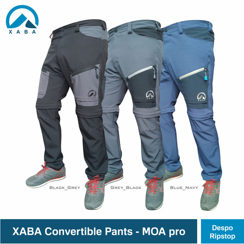Foto Produk XABA convertible pants - celana sambung pdl ultralight - Biru, XL dari XABA
