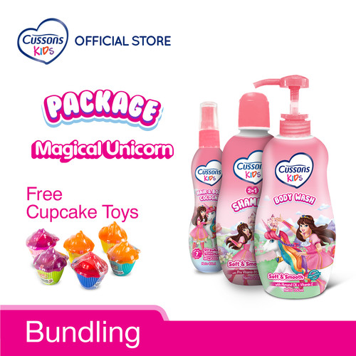 Foto Produk Cussons Kids Magical Unicorn Bundling dari Cussons Official Store