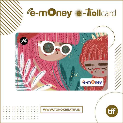 "Foto Produk eMoney eToll Mandiri ""People"" dari TokoKreatif ID"