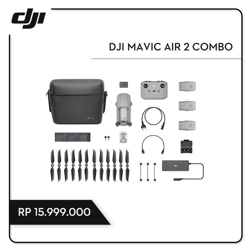 Foto Produk DJI Mavic Air 2 Combo dari DJI Authorized Store JKT