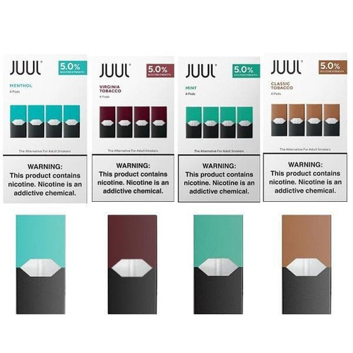 Foto Produk Cartridge JuuL USA isi 4 - Authentic (Android) dari Cape Vape