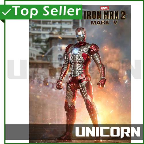 Foto Produk 1/10 IRON MAN MARK V ZD TOYS / MK 5 / ZHONG DONG / ZHONGDONG dari Unicorn Toys