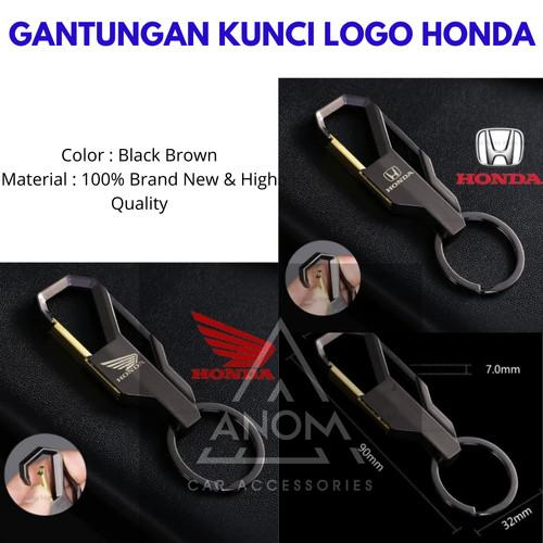 Foto Produk Gantungan Kunci Mobil Motor Ikat Pinggang Logo Honda Alumunium Alloy - HONDA MOTOR dari ANOM Otomotif