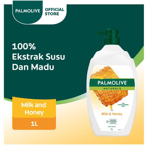 Foto Produk Palmolive Milk & Honey Shower Gel/Sabun Mandi Susu 1L dari Colgate Palmolive
