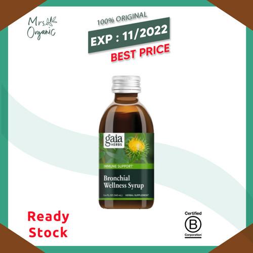 Foto Produk Gaia Herbs - Bronchial Wellness Syrup dari Mrs Organic