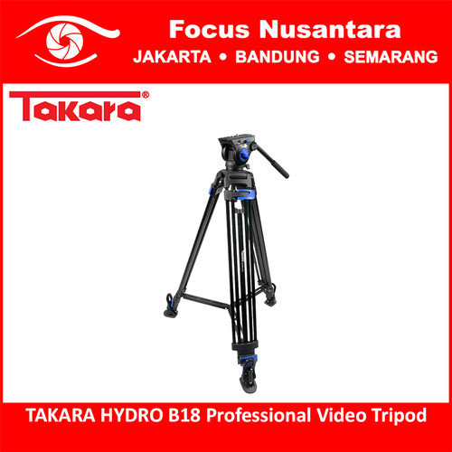 Foto Produk TAKARA HYDRO B18 Professional Video Tripod dari Focus Nusantara
