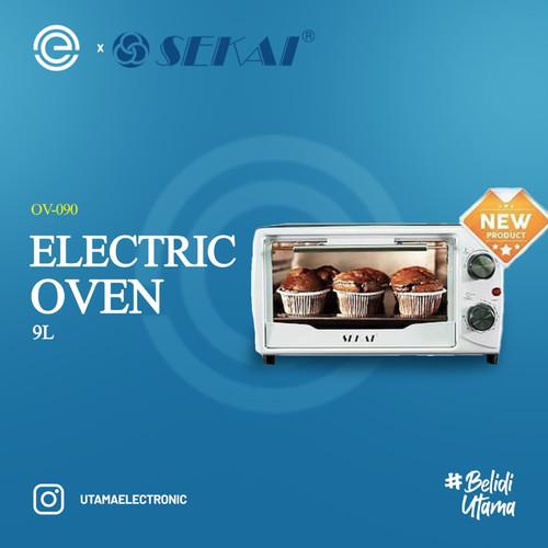 Foto Produk SEKAI Oven Listrik 9 Liter - OV090 dari UTAMA_ELECTRONIC