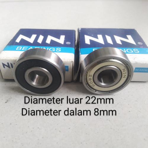 Foto Produk Bearing / laher original NIN diameter Luar 22mm diameter dalam 8mm dari Ica sports