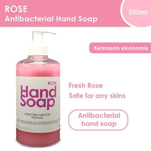 Foto Produk Hand Wash - Sabun Cuci Tangan - Aroma Mawar - Hand Soap Rose 500ml dari Adhya Graha Kencana