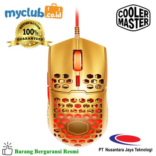 Foto Produk Cooler Master Mouse Gaming MM711 Golden Red [MM-711-GROL1] dari Myclub