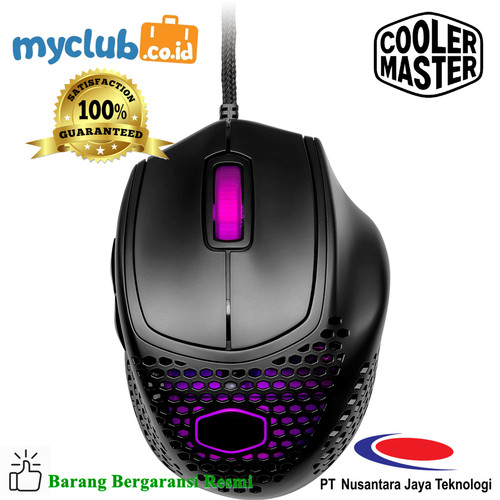 Foto Produk Cooler Master Mouse Gaming MM720 Matte Black [MM-720-KKOL1] dari Myclub