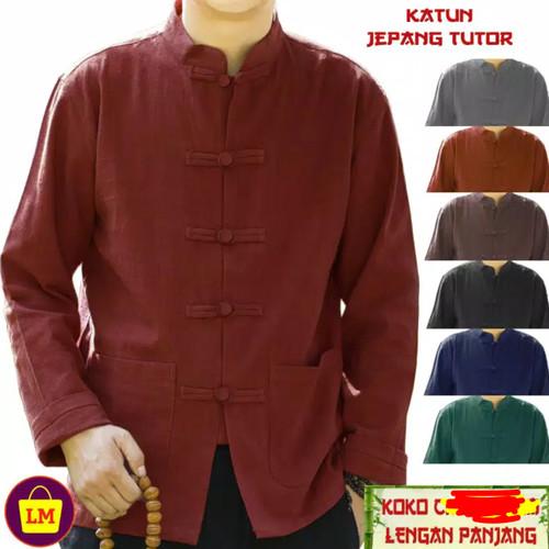 Foto Produk baju china/kungfu/baju tionghoa/baju pria/kemeja cina/imlek/....v3.. o dari Barang serba murah.