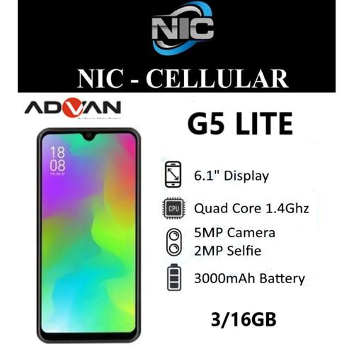 Foto Produk Advan G5 Elite 3/16 Ram 3GB Internal 16GB Garansi Resmi dari Nic-cell
