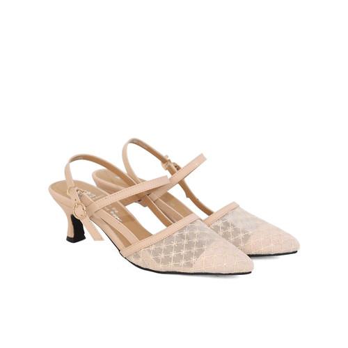 Foto Produk Polla Polly - Hyun Beige - Sepatu Heels Wanita - 37 dari Polla Polly