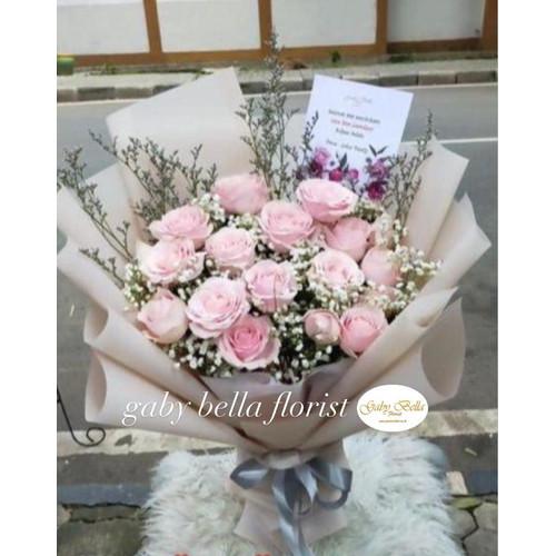 Foto Produk Hand Bouquet - 7002 Bunga segar Bunga Fresh Bunga Hidup Fresh Flowers dari Gabybellaflorist