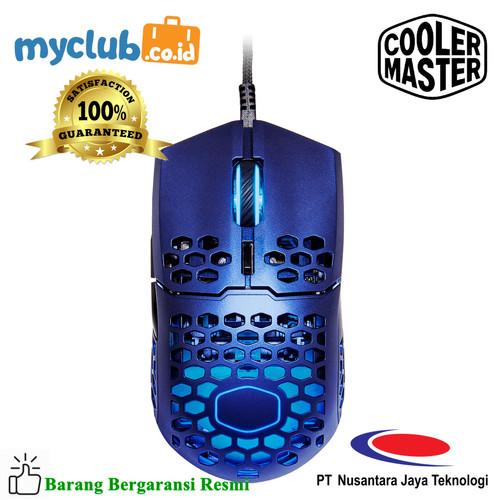 Foto Produk Cooler Master Mouse Gaming MM711 Metallic Blue [MM-711-MBOL1] dari Myclub