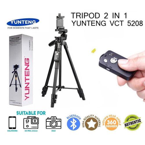 Foto Produk TRIPOD YUNTENG VCT 5208 Original 100% Murah dari SmartClick