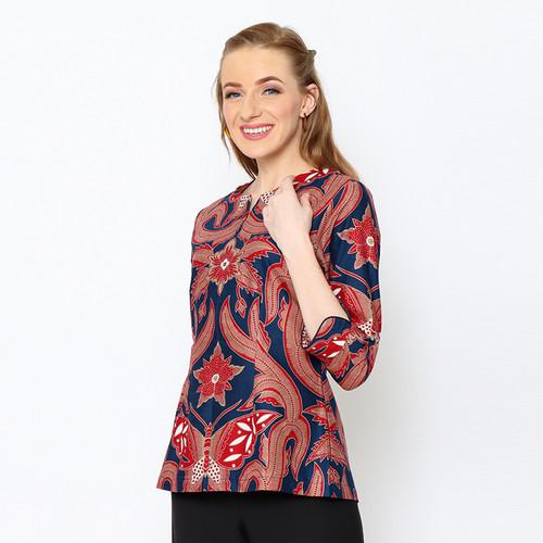 Foto Produk Adinata Batik Monika Marvel Blouse - S dari ADINATA BATIK ID