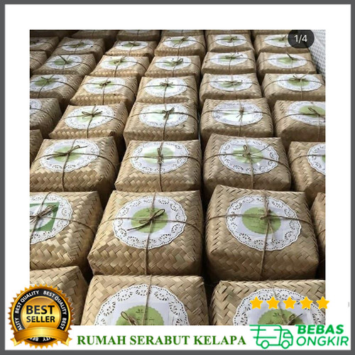Jual Besek Bambu Sepasang 18 18 7 Cm Kota Tangerang Selatan Rumah Serabut Kelapa Tokopedia
