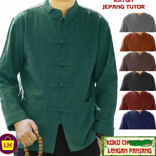 Foto Produk baju china/ip man/baju tionghoa/baju pria/kemeja cina/imlek/....v3.. o dari Barang serba murah.