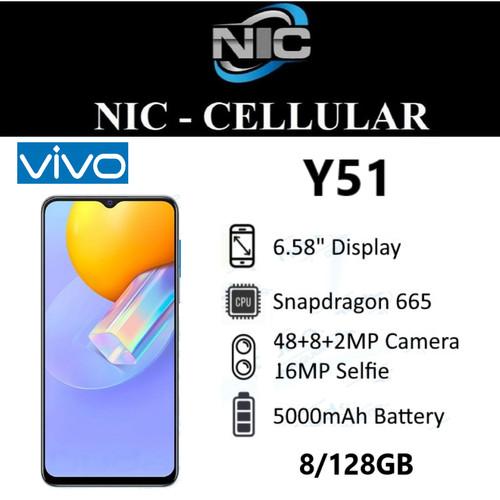 Foto Produk Vivo Y51 8/128 Ram 8GB Internal 128GB Garansi Resmi dari Nic-cell