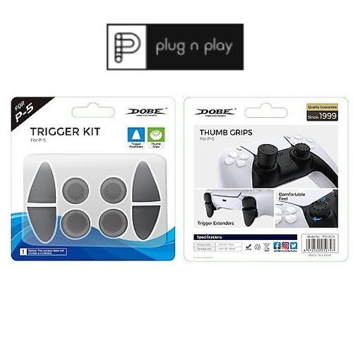 Foto Produk DOBE Trigger Kit for PS5 DualSense dari PLUGNPLAY