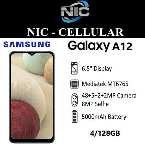 Foto Produk SAMSUNG GALAXY A12 4/128GB RAM 4GB ROM 128GB GARANSI RESMI dari Nic-cell