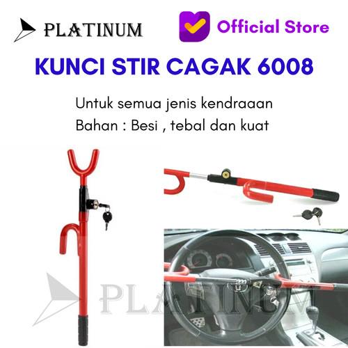 Foto Produk KUNCI PENGAMAN CAGAK STIR SETIR MOBIL CAR SECURITY TIPE 6008 dari PLATINUM CAR PARTS