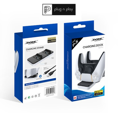 Foto Produk PS5 Dobe Charging Dock / Charger / Dual Sense dari PLUGNPLAY