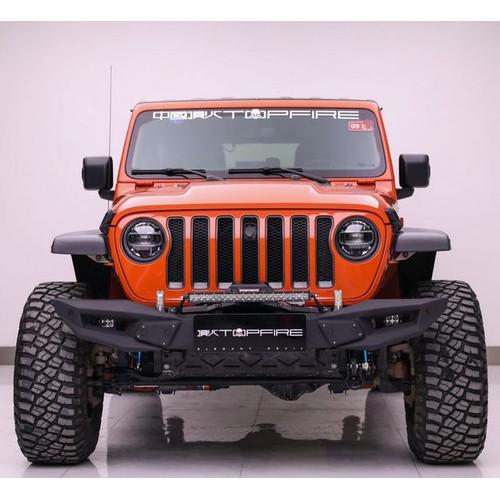 Foto Produk BLADE Bumper Set New Jeep Wrangler JL Bemper Besi Angry Fire Rubicon dari PIONIR JEEP