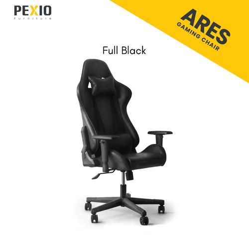 Foto Produk Kursi Gaming PEX  PEX Gaming Chair Ares Series - Hitam dari PEXIO Furniture
