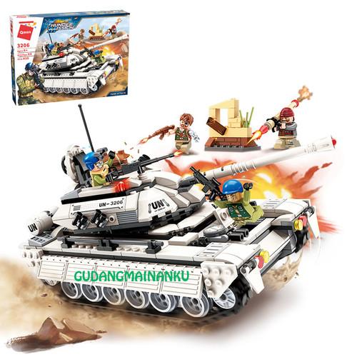 Foto Produk Lego Qman 3206 Thunder Mission Tank Attack Mobil Panzer Militer dari Gudangmainanku