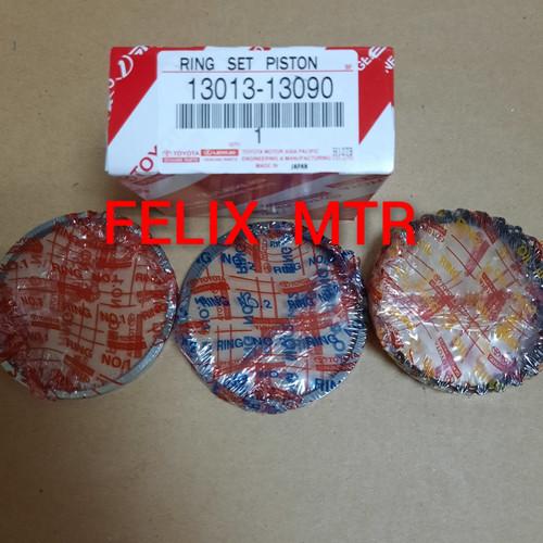 Foto Produk RING PISTON RING SEHER KIJANG 5K STD 025 050 075 100 dari Felix_motor