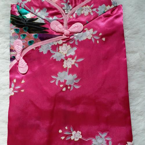 Foto Produk Dress cheongsam anak / baju imlek anak perempuan - Size 6, Rose dari Brony Store