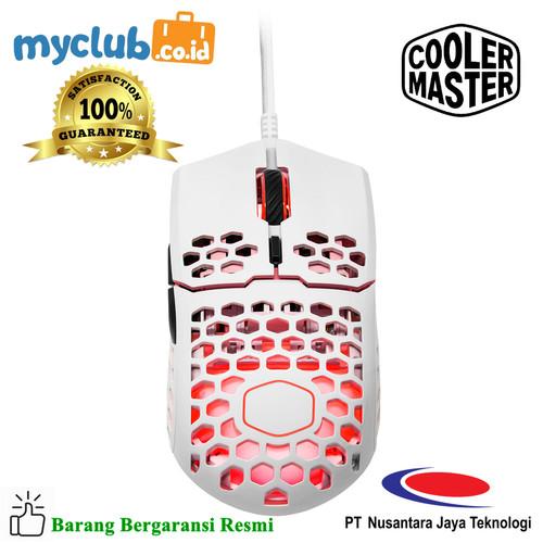Foto Produk Cooler Master Mouse Gaming MM711 Glossy White [MM-711-WWOL2] dari Myclub