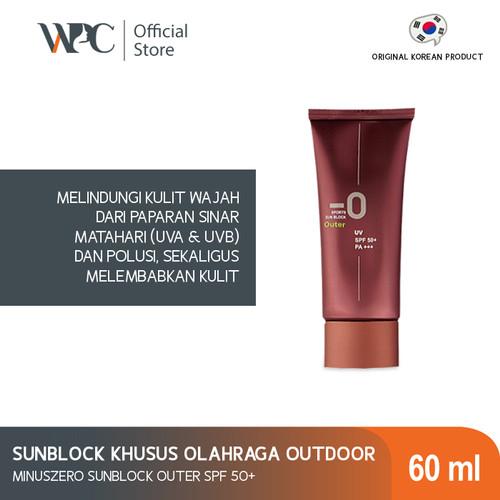 Foto Produk Minuszero sunblock outer SPF 50+ PA+++ 60ml   Tabir Surya Wajah dari Wijaya platinum official