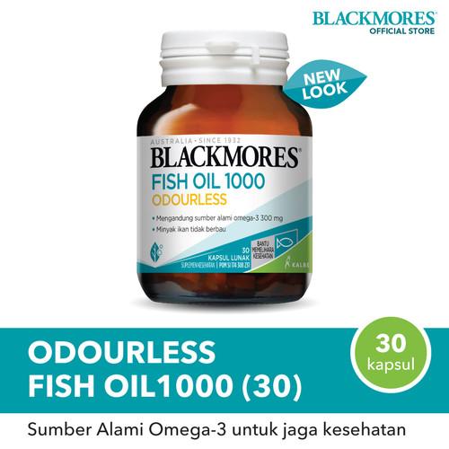 Foto Produk Blackmores Odourless Fish Oil 1000 (30) dari Blackmores Wellness