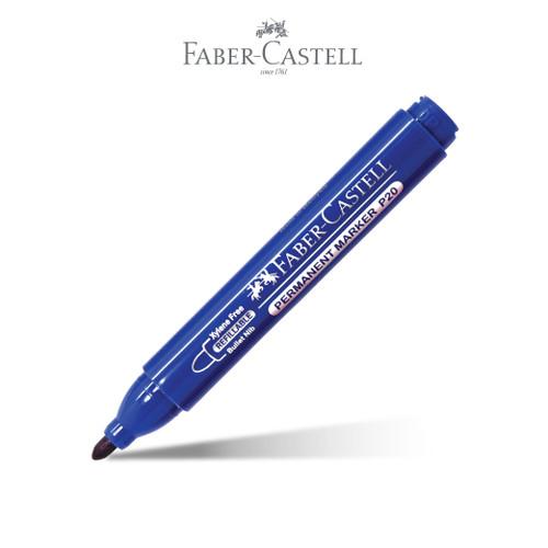 Foto Produk Faber-Castell Permanent Marker Blue Ink dari Faber-Castell