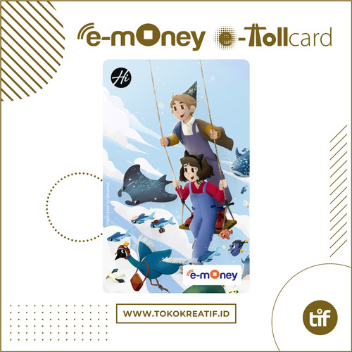 "Foto Produk eMoney eToll Mandiri ""Kids Play Swing"" dari TokoKreatif ID"