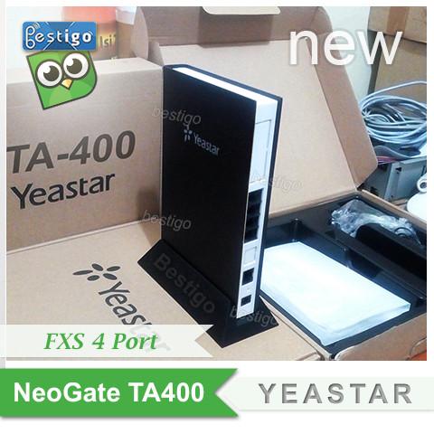 Foto Produk Yeastar NeoGate TA400 FXS 4 port Voip Gateway dari BESTIGO PABX TELEPON
