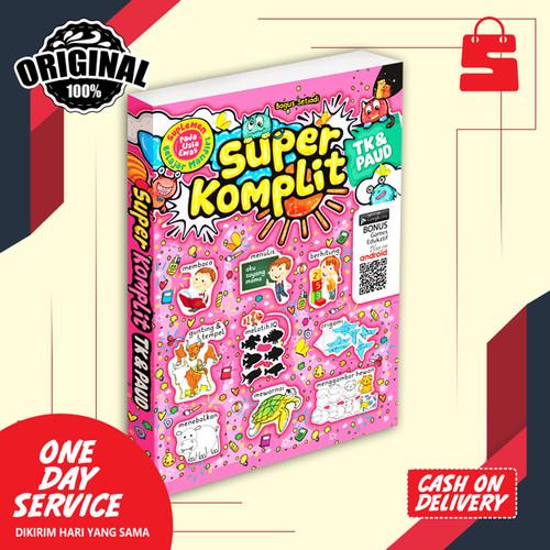 Foto Produk BUKU ANAK TK PAUD SUPER KOMPLIT TK & PAUD : SUPLEMEN BELAJAR dari tokosepuluhsby