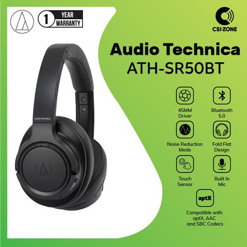 Foto Produk Audio Technica ATH-SR50BT Over Ear Wireless Headphone dari csi-zone
