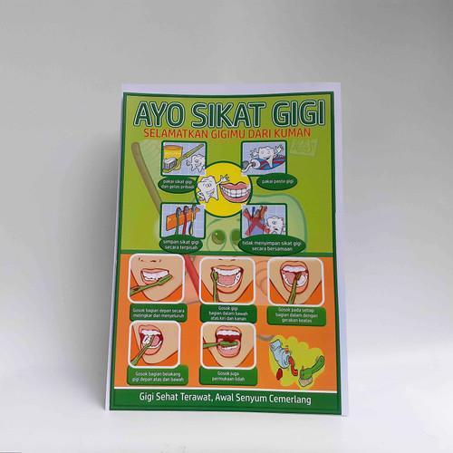 Foto Produk Poster Ayo Sikat Gigi dari Syafana