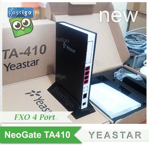 Foto Produk Yeastar NeoGate TA410 FXO 4 port Voip Gateway dari BESTIGO PABX TELEPON